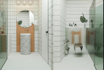 Ide Desain Kamar Mandi Minimalis Modern Dan Sederhana