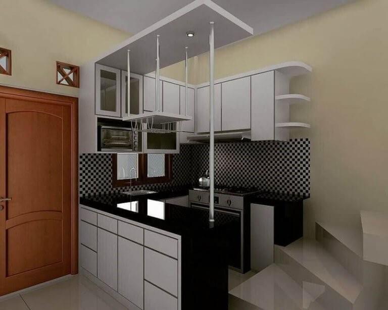 27 Desain Dapur Minimalis Modern dan Sederhana (Trend 2019)