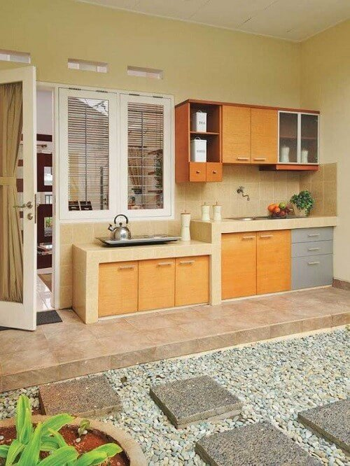18+ Desain Dapur Kecil Minimalis Cantik (Sederhana & Modern)