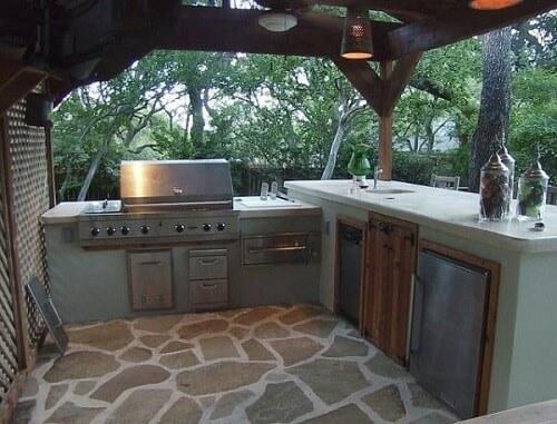 16 Desain Dapur Terbuka Minimalis Sederhana Modern