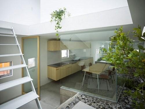 Desain dapur terbuka minimalis