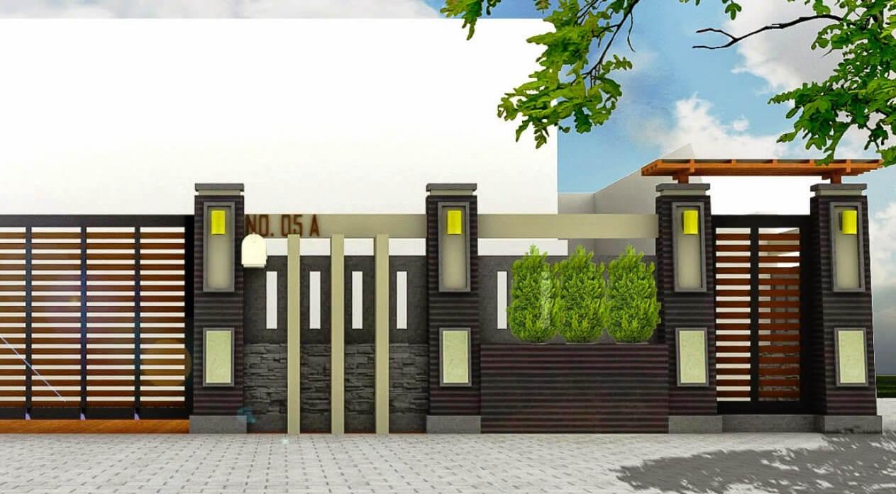 √ Model Pagar Rumah Minimalis Modern Terbaru 2019