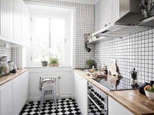 model dan motif keramik dinding dapur minimalis 2019