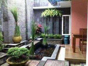 31+ berbagai desain kolam ikan minimalis untuk rumah