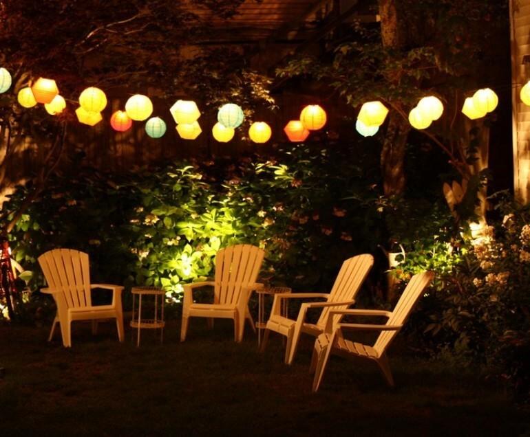 Lampu Taman minimalis