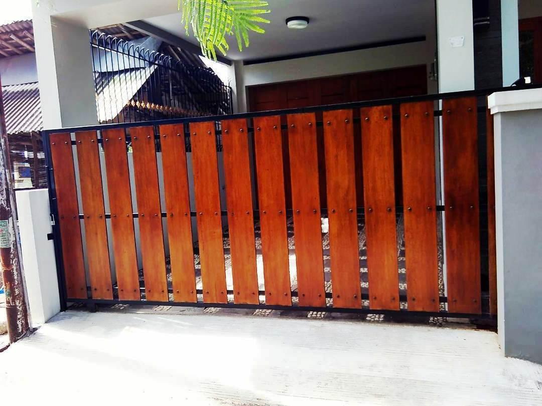pagar rumah minimalis