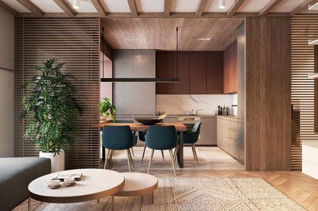 19 Inspirasi Desain Dapur Dan Ruang Makan Minimalis Mewah