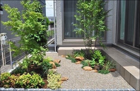 Desain taman minimalis