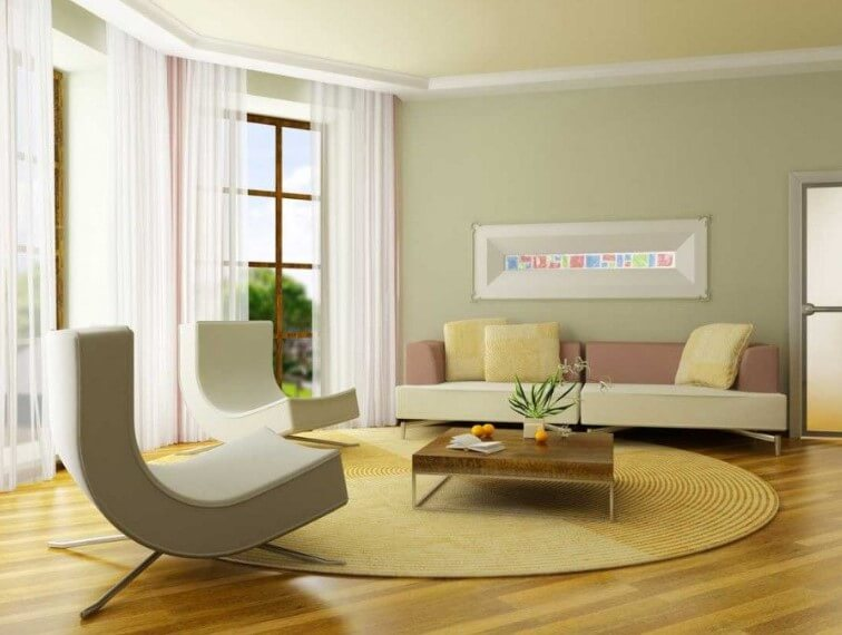 25+ Warna Cat Ruang Tamu Minimalis yang Bagus dan Cantik