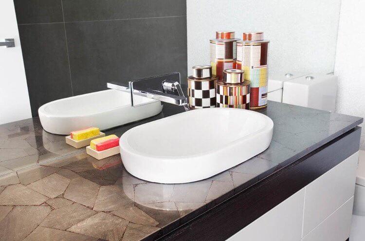 gambar model wastafel modern minimalis