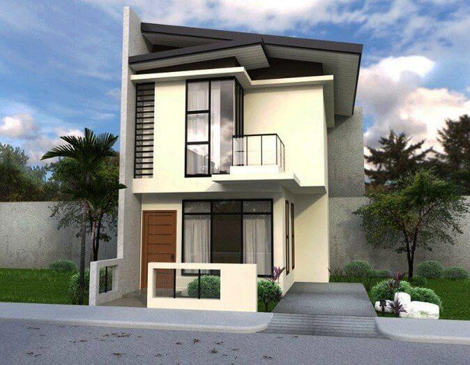 57 Desain Rumah Minimalis 2 Lantai Modern dan Sederhana ...