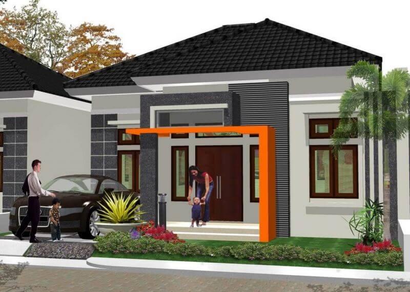 43 Model Desain Teras Rumah Minimalis Modern Sederhana