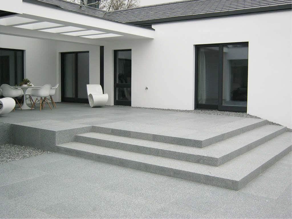 Teras Granit Minimalis