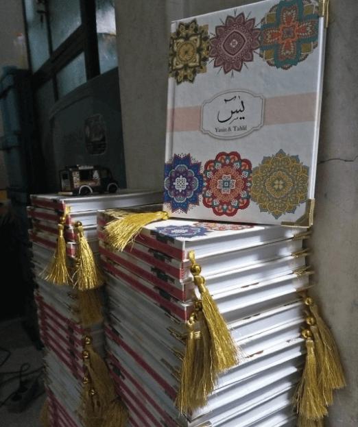buku yasin custom 2