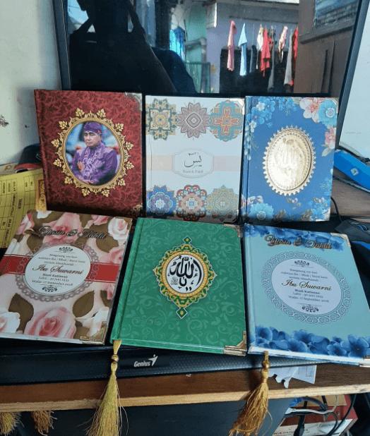 buku yasin custom 3